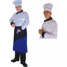 Çapraz Yaka Aşçı Ceketi